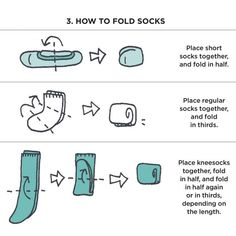 Here's How to Fold Clothes Exactly Like Marie Kondo These Marie Kondo folding tips explain the most space-efficient way to fold pants, socks, and underwear, according to folding genius herself. No Closet Solutions, Small Space Solutions, Small Closet Organization, Storage Organization, Clothing Organization, Storage Ideas, Organization Skills, Easy Storage, How To Fold Pants