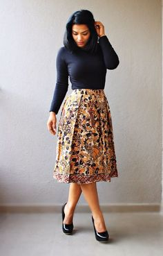 Kalamkari is an age old traditional art of India. Wear this exclusive print with rich tones of yellow and maroon in the form of an on-trend Midi Skirt. Made of Handloom Cotton and fully lined with Butter Crepe, the Kalamkari Midi Skirt can be styled in multiple ways. Wear it with a Black Tee or a Button-Up or a crop top, it looks flattering in all ways. The skirt features a metal zipper at the back. The fabric has been pre-washed to gurantee against shrinkage and color-loss.