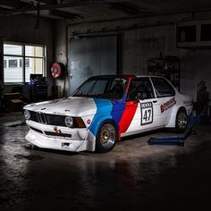 More E21...:) @ginlek_automotive_photography took some pics of my racecar that I think came out pretty cool  #bmw #e21 #m10b20turbo #group2 #becauseracecar #racing #racecar #bmwcup #image #wheels #toyor888 #classic #sharknose #mstripes