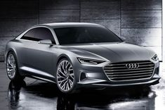 """Audi is launching into a new design era with its Prologue concept car. Revealed at the LA Auto Show by newly-appointed design boss Marc Lichte, the two‑door coupe heralds a change in styling direction for the German brand. """"When he moved to Audi, Marc […] Auto Motor Sport, Sport Cars, Motor Car, Audi Sport, Audi A8, Supercars, Mustang, Automobile, Mercedes Benz S"""