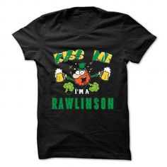 St Patrick - Kiss me - RAWLINSON - #mothers day gift #inexpensive gift. GET IT NOW => https://www.sunfrog.com/Camping/St-Patrick--Kiss-me--RAWLINSON.html?68278
