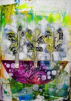 Coolest blog ever--- so many neat inspiring multi media pieces of artwork! http://dinastamps.typepad.com/ponderings/page/5/