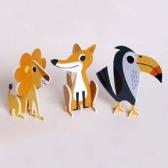 Laser Cutting - Animal 2D Puzzle: