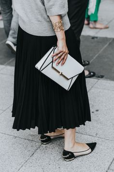 Habitually Chic®  » Haute Couture Street Style Inspiration