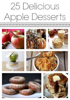 DELICIOUS Apple Desserts for fall