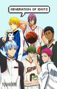 "You should read ""Generation of Idiots (Kuroko no Basket Facebook Fanfiction)"" on #Wattpad. #fanfiction"