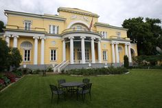 Spaso House, Moscow.  The residence of the US Ambassador to the Soviet Union.  Also the site of Woland's Walpurgis Night ball in the 'Master and Margarita'