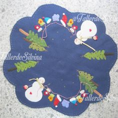 Craft Art, Xmas, Christmas, Felt Crafts, Diy Fashion, Kids Rugs, Homemade, Creative, Gifts