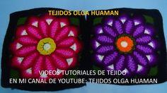 Flor grande en punto rococo de 12 petalos video 2
