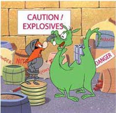 Yosemite Sam - Dragons is SO Stupid