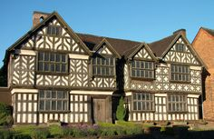 Churches Mansion, Nantwich, Cheshire,