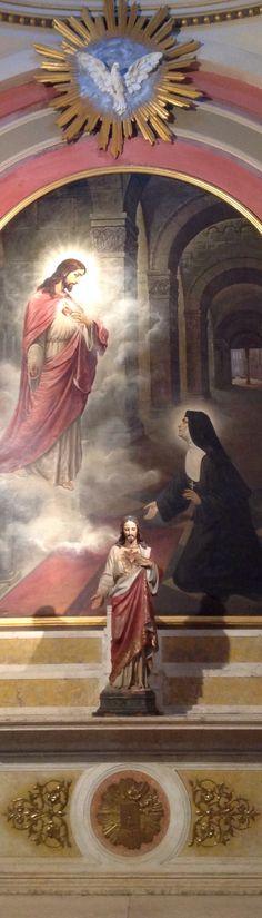 SAGRADO CORAZÓN DE JESÚS. SANTA MARGARITA MARÍA DE ALACOQUE. Catedral Metropolitana de Buenos Aires ARGENTINA.