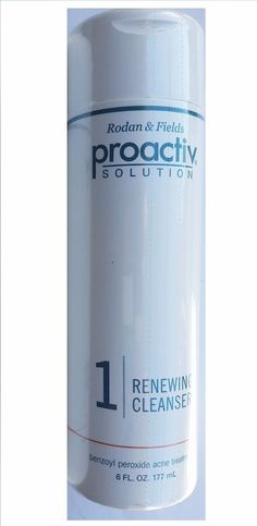 Proactiv Solutions Proactive Renewing Cleanser 6 oz Rodan & Fields No Exp date #Proactiv