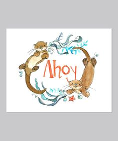 This is too cute... - Ahoy Print