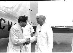 August 13, 1951 :: King of Nepal arrives in Delhi