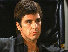 "Tony Montana (Al Pacino): ""I kill a communist for fun, but for a green card, I gonna carve him up real nice."" -- from Scarface (1983) directed by Brian De Palma"