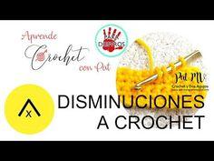 (210) Cómo Hacer 💚 DISMINUCIONES A CROCHET 💚 en Medio Punto / Clase # 10 - YouTube Crochet Letters Pattern, Letter Patterns, Alphabet, Charts, Make It Yourself, Crochet Gratis, Youtube, Ideas, Crochet Alphabet
