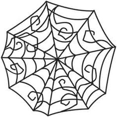 Stick this spiderweb anywhere and craft an instant spooky atmosphere. Downloads as a PDF. Use pattern transfer paper to trace design for hand-stitching.