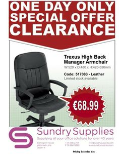 Call 01 668 2799 for more information on this and much more of our seating range! Burlington House, Workplace, Range, Cookers