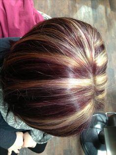 Highlight. Retouch. Violet. Purple. 5Vr. Red ken.