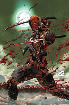 DEATHSTROKE #3 Written by TONY S. DANIEL Art by TONY S. DANIEL and SANDU FLOREA Cover by TONY S. DANIEL On sale DECEMBER 24 • 32 pg, FC, $2.99 US • RATED T+ Deathstroke's taking bigger and bolder risks as the hunt for his stolen memories continues. Slade will be pushed to the edge to achieve his goal, but will he ultimately be undone by executing his way to the truth?