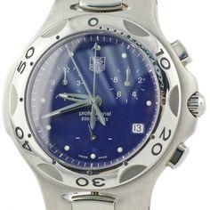 TAG Heuer Men's CL1111.BA0700 Kirium Collection Chronograph Watch