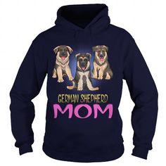 Black And Brown Smiling Puppies Dog German Shepherd mom
