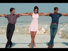 "Dance under the acropolis from the movie ""Apollo Goes on Holiday"" (Epiheirisis Apollon) with Helena Nathanail and Thomas Fritsch. Movie Songs, Songs To Sing, Movies, Lord Of The Dance, Greek Music, Going On Holiday, Athens Greece, Beautiful Songs, World Music"