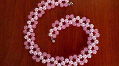 Колье из бусин. Мастер-класс. DIY. Necklace of beads