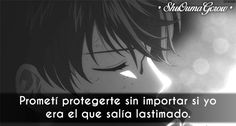Prometí protegerte #ShuOumaGcrow #Anime #Frases_anime #frases
