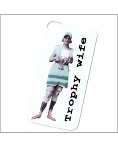 iphone 4 case trophy wife iphone 4 cover i phone 4 by icasecouture, $15.00