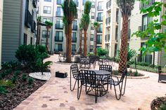 Zen garden at the University House Central Florida     #garden #college #UCF #apartment