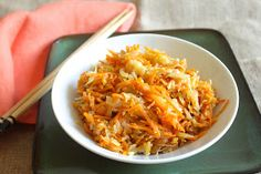 Adventures in Partaking - Gingered Cabbage & Carrots {aip, paleo, whole 30}