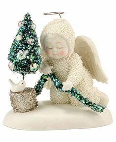 Department 56 Collectible Figurine, Snowbabies SnowDream Little Garden Angel