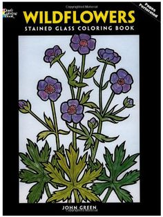 Wildflowers Stained Glass Coloring Book (Dover Nature Stained Glass Coloring Book) by John Green http://www.amazon.com/dp/0486289036/ref=cm_sw_r_pi_dp_CK6Bvb0QWASAF