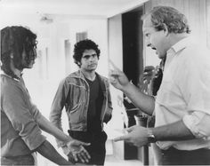 A scene from the film Wrong Side of the Road (1980)