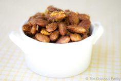 Clean Eating Roasted Lemon & Honey Almonds