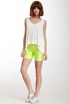 Neon Cycling shorts - love