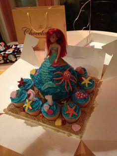 WOW! Beautiful Ariel cake
