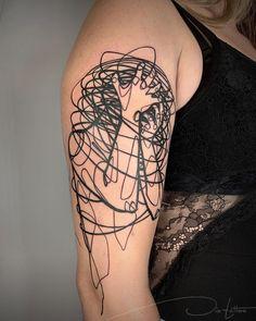 Line Art Tattoos, Body Art Tattoos, Sleeve Tattoos, Tattoo Art, Dream Tattoos, Future Tattoos, Unique Tattoos, Small Tattoos, Unique Tattoo Designs