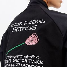 Online: ZDDZ x Legtorn coat with embroidery #ZDDZ #zddzxlegtorn #zddzshop