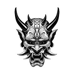 Art - stile tatuaggio - Arte Informations About Art – tattoo style Pin You can easily use my pro - Samurai Maske Tattoo, Hannya Maske Tattoo, Female Samurai Tattoo, Japanese Oni Mask, Japanese Demon Tattoo, Japanese Tattoos, Japanese Art, Traditional Japanese, Japanese Mask Meaning