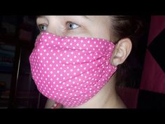 A simple face mask. Reusable. With size calculation. - YouTube