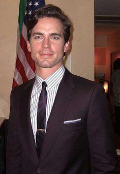 Neal Caffrey aka. the very handsome Matt Bomer.