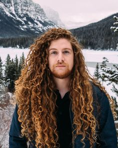 Curly Hair Men, Curly Hair Styles, Moustache, Curly Wurly, Guy Pictures, Hair Goals, Hair Inspiration, Dreadlocks, Instagram