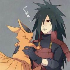 Madara's face is pure gold. I'll bet Kurama is wanting put down too.