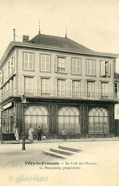 1000 images about vitry le fran ois anciennes vues on for Garage vitry le francois