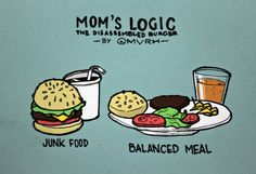 The Disassembled Burger by MVRH  Happy (belated) Mother's Day to all you wonderful moms.