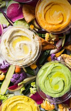 Chickpea Magnet Vibrant takes on classic hummus