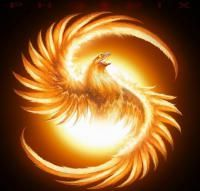 ✿ڿڰۣ(̆̃̃ レo√乇 ღ... The Phoenix:  The mythical Phoenix bird represents rebirth and appears in many cultures throughout history. The bird appears as either luminous, beautiful, mighty or all of the above, plus more.  I think depictions of the bird look wonderful.    http://www.squidoo.com/Mythical-Phoenix-Bird#module72058371